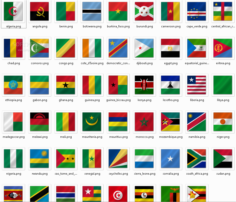 South African Flags (South Africa) from The World Flag Database