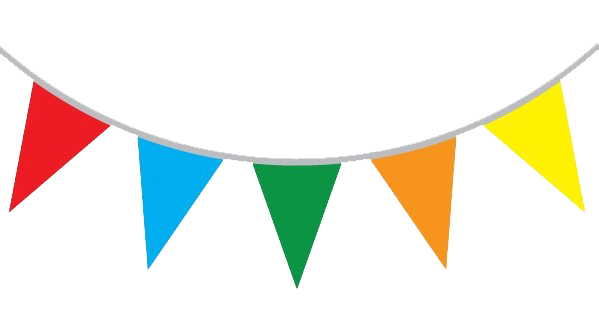 Flag bunting clipart ClipartFest