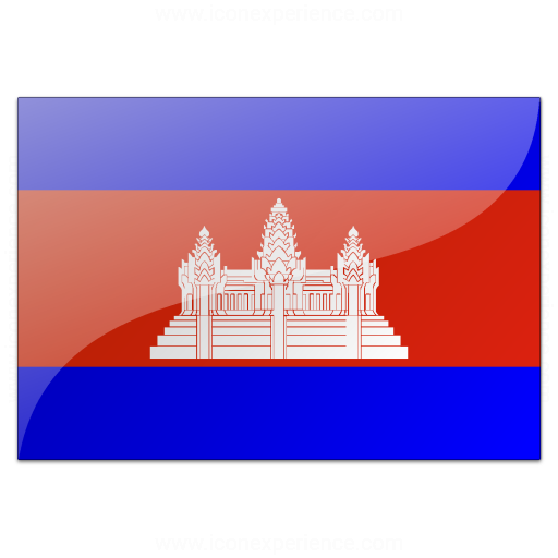 IconExperience » V Collection » Flag Cambodia Icon
