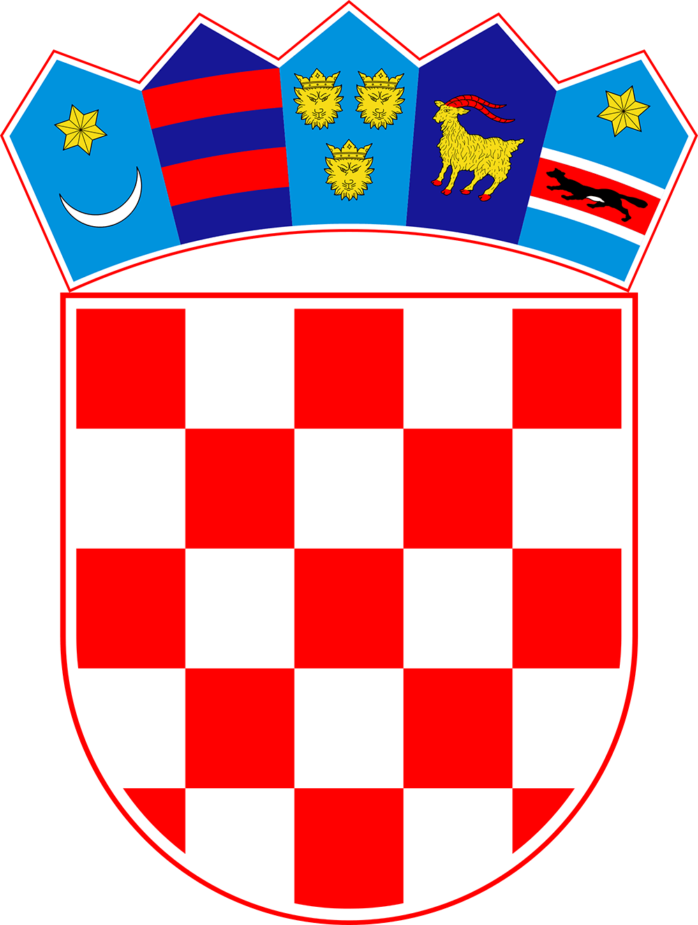 Free Croatia Flag Images: AI, EPS, GIF, , PDF, PNG, and SVG