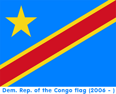 Free Democratic Republic of the Congo Flag Images: AI, EPS, GIF