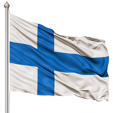 Finnish Flags (Finland) from The World Flag Database
