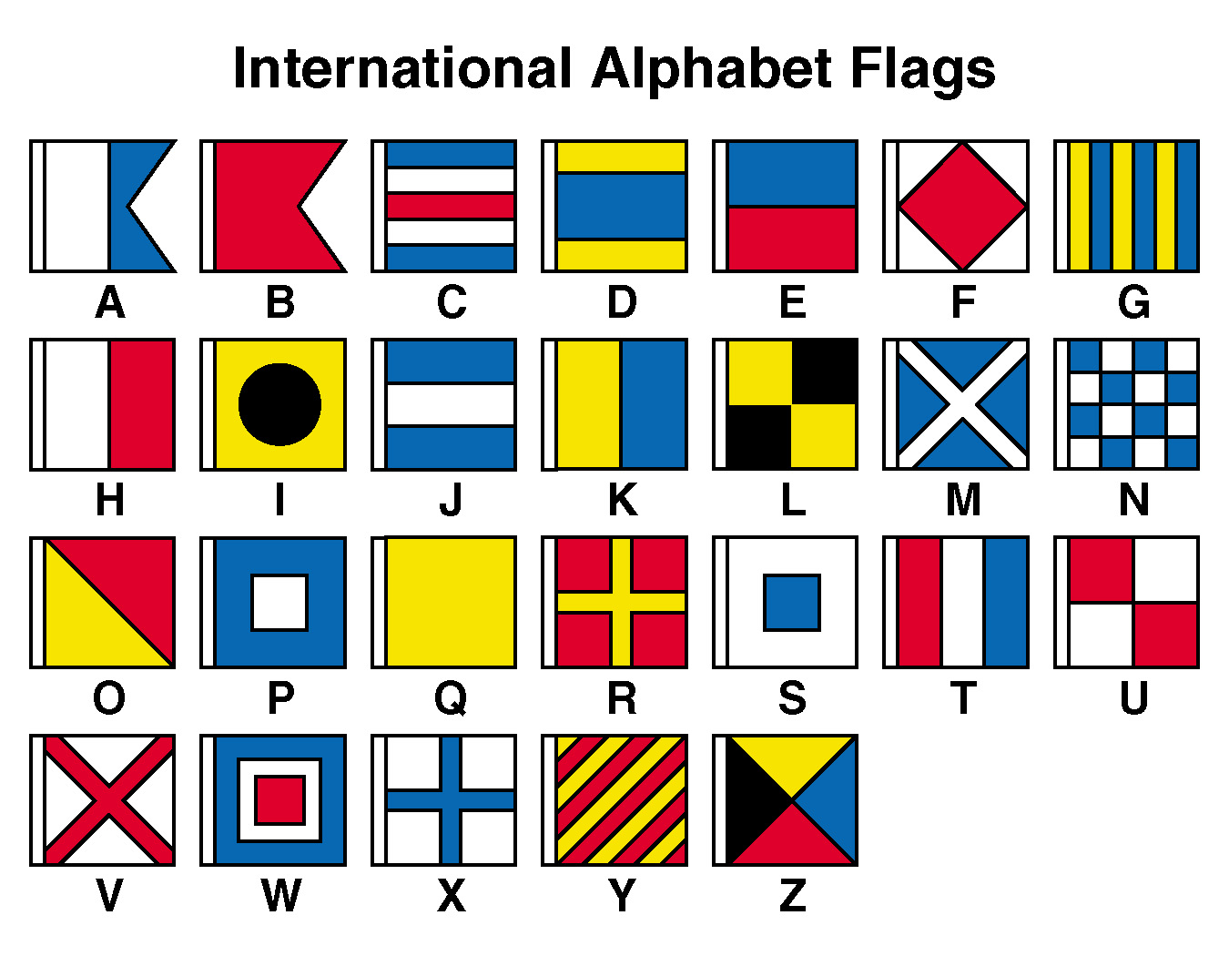 International Alphabet Flags | Treasure Hunt | Pinterest | Flags