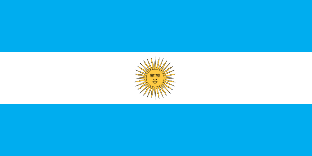 National Flag Store Argentina Flag Nylon National Flag Store
