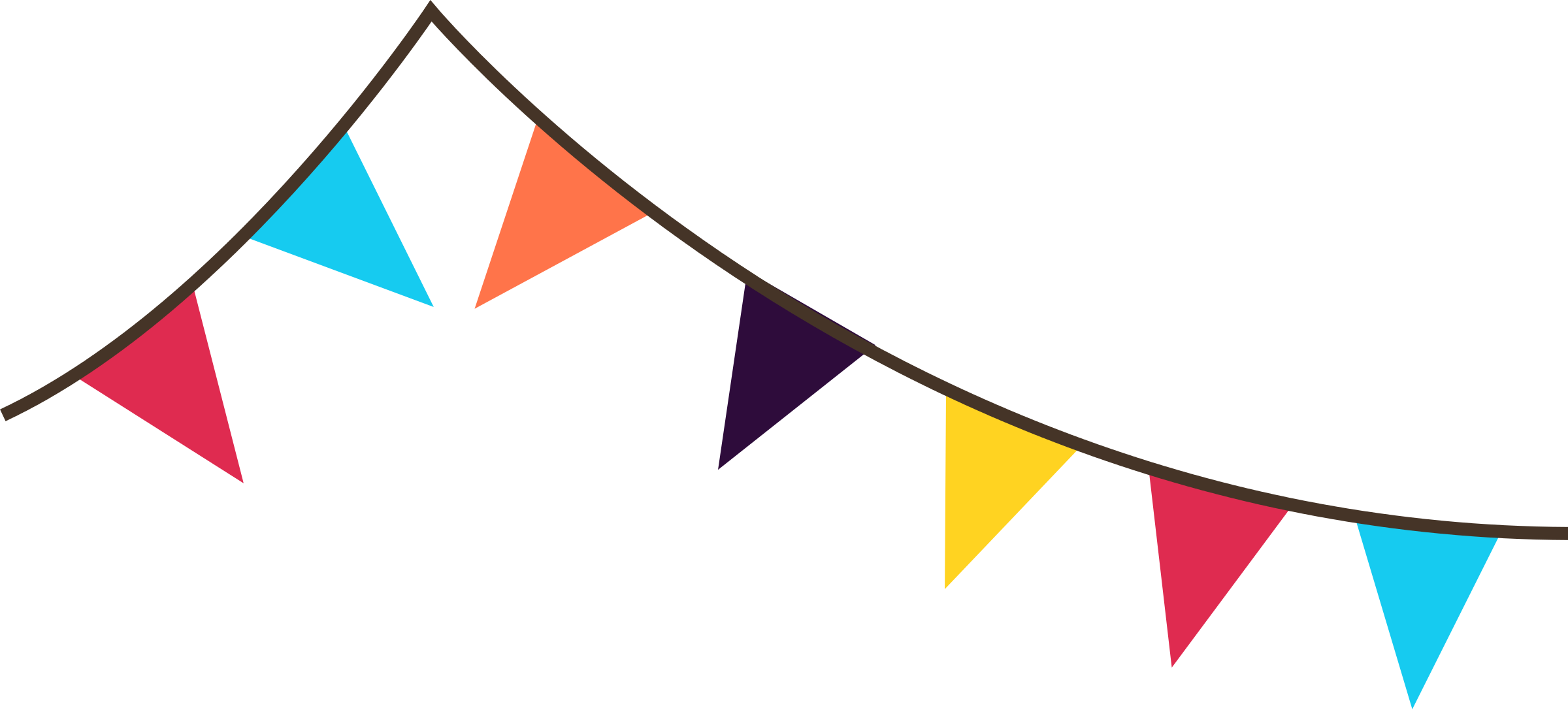 Triangle Flag Banner Clipart | Clipart Panda Free Clipart Images