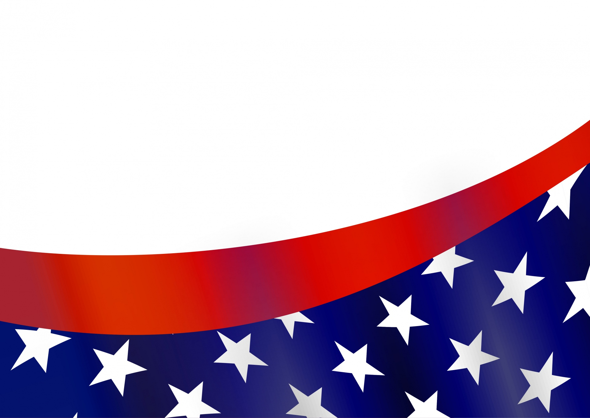 This is a picture of Clever Patriotic Banner Clipart