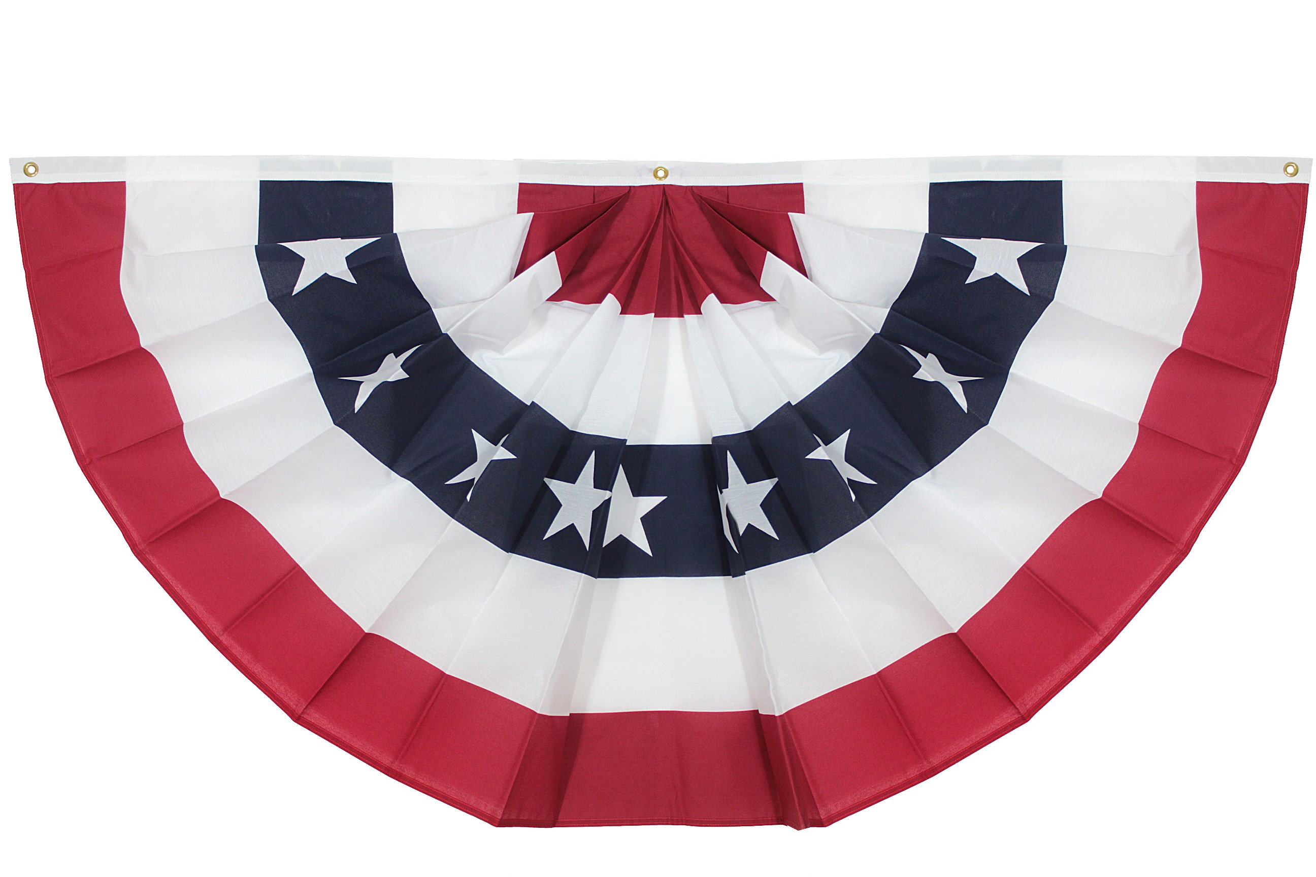 Large Pleated Fan Bunting – US Flag Maker