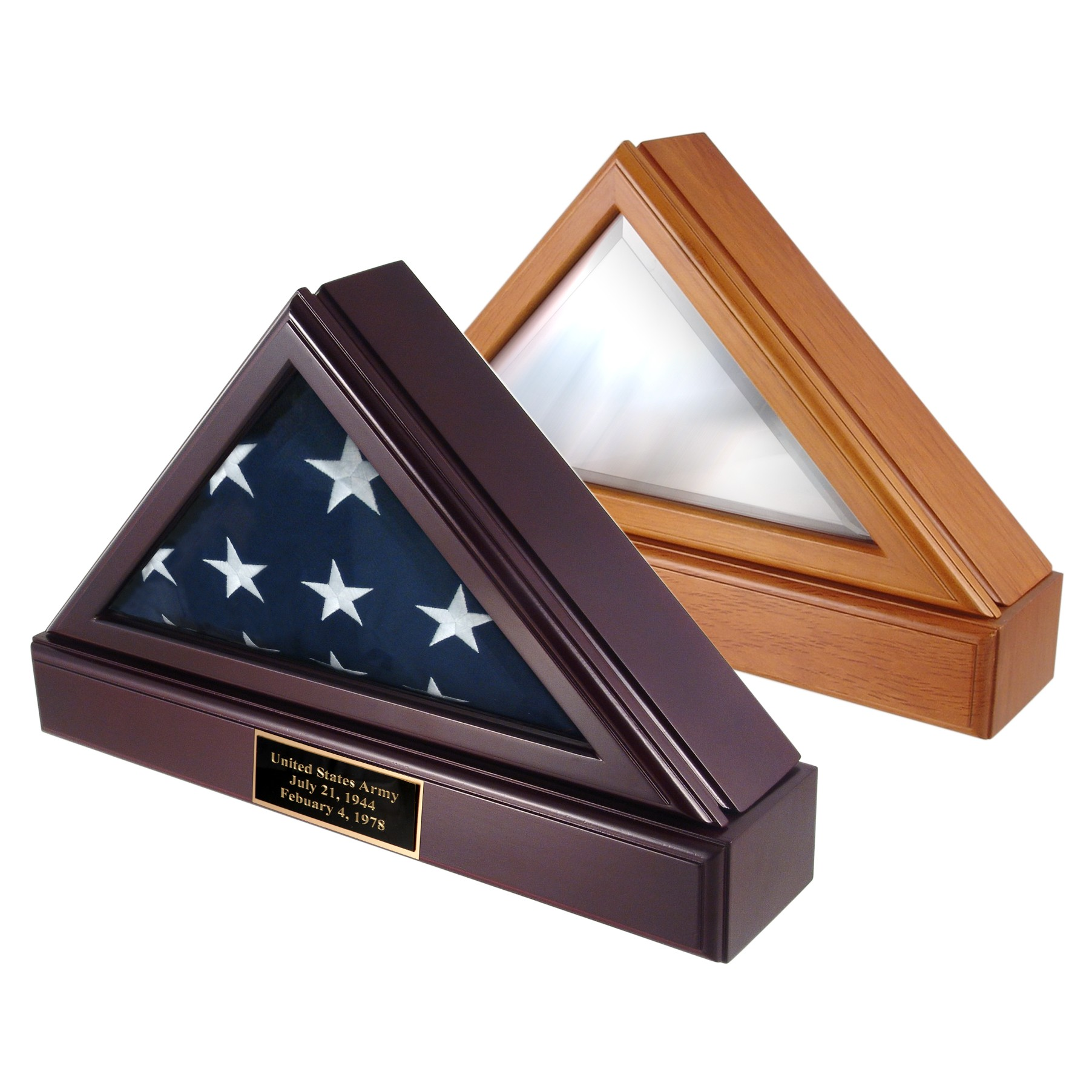 Officers Flag Display Case & Pedestal U.S. Flag Store