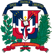 It stand The first Dominican Republic flag was created by Ms