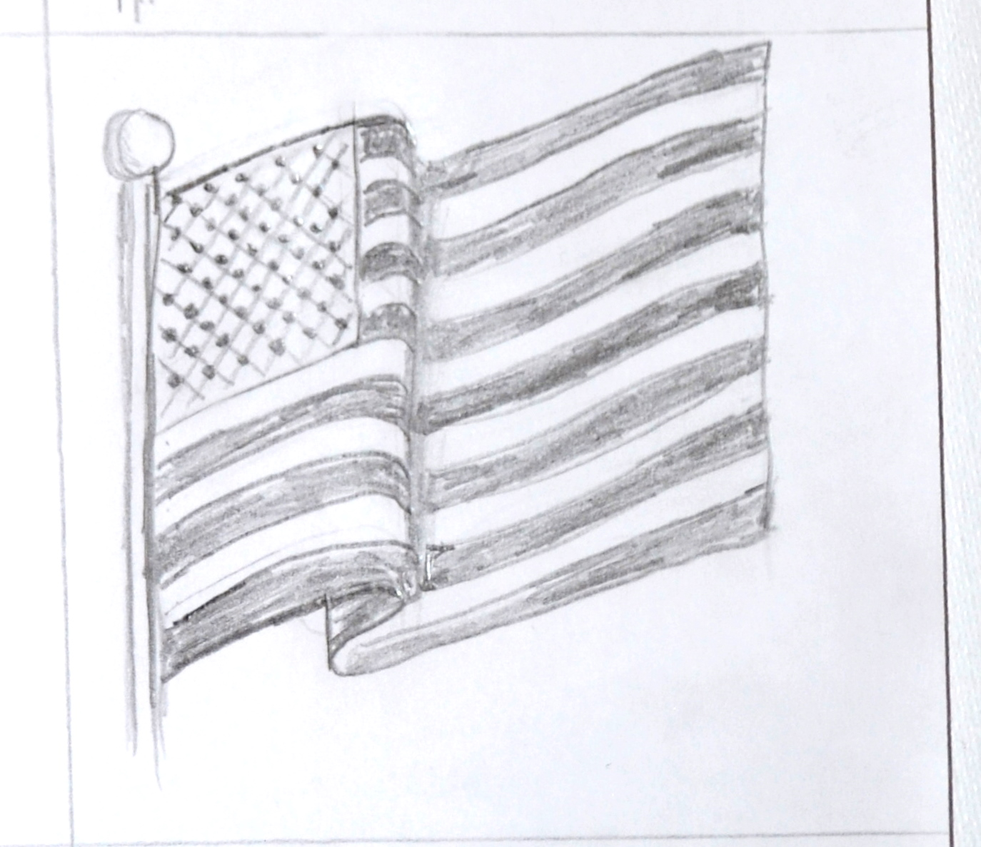 Indian national flag drawing kids