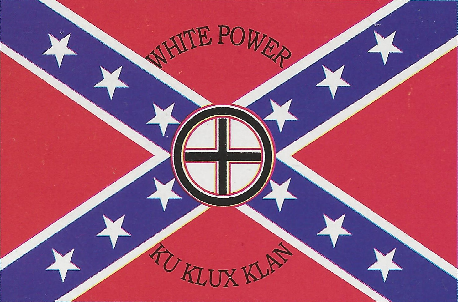 Flags Tightrope Records Tightrope Records White Power White