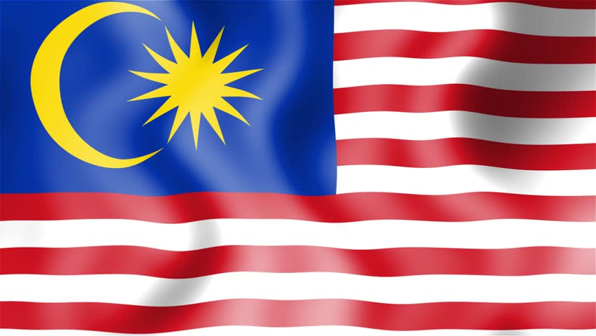 Malaysia Flag Stock Footage Video Shutterstock
