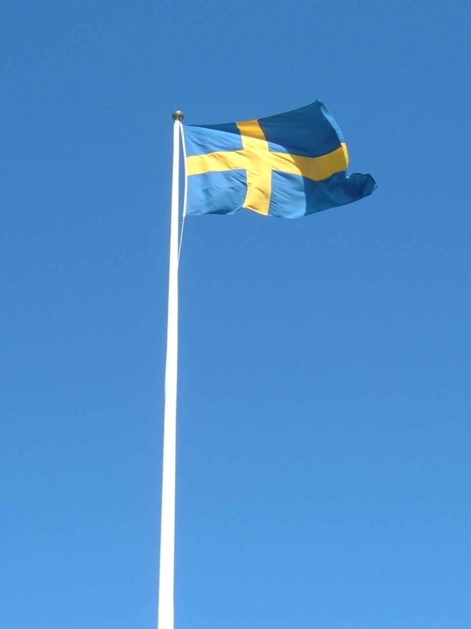 Swedish Flag Mast | DesiBucket.com