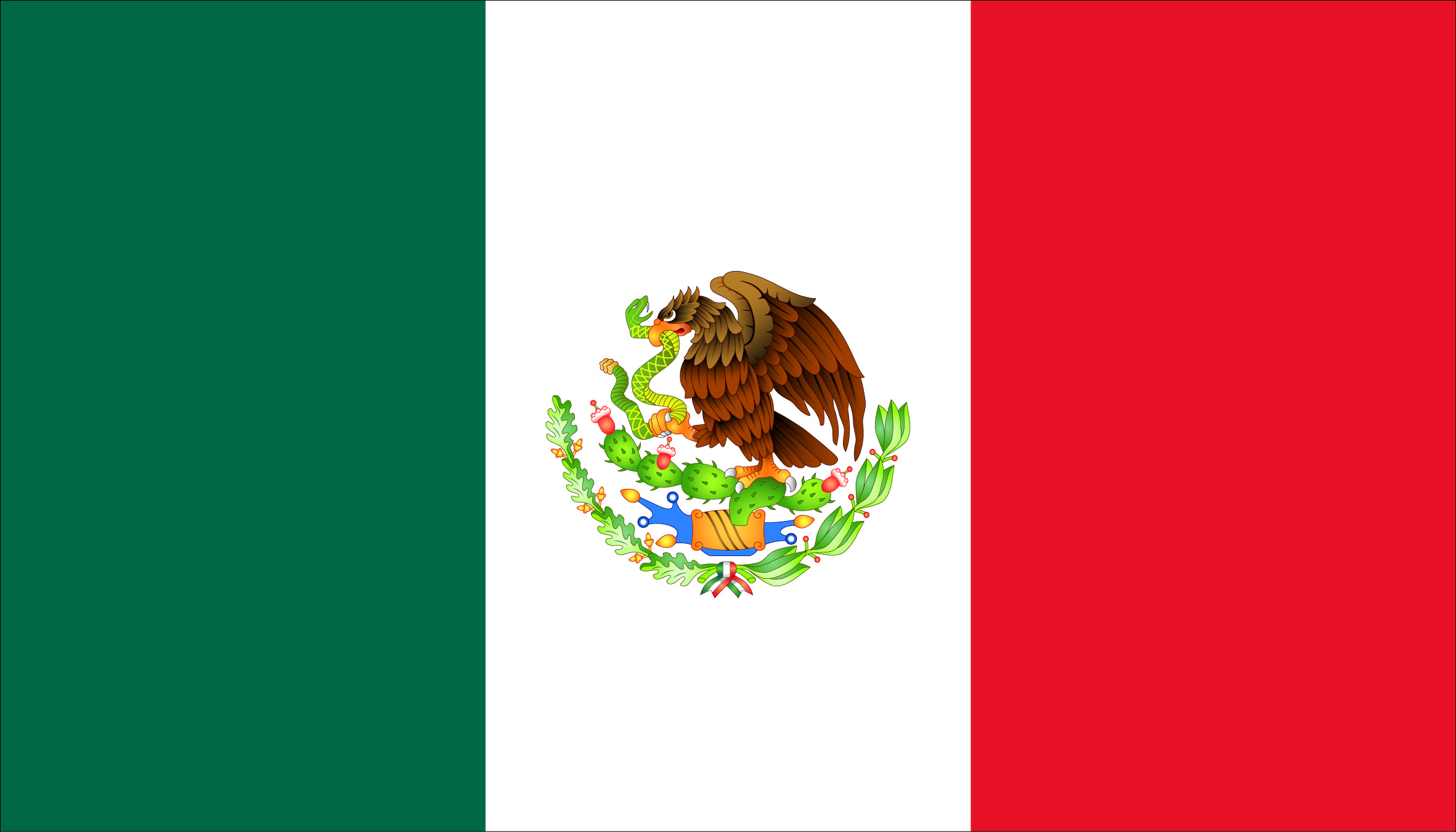 File:Flag of Mexico (reverse).png Wikimedia Commons