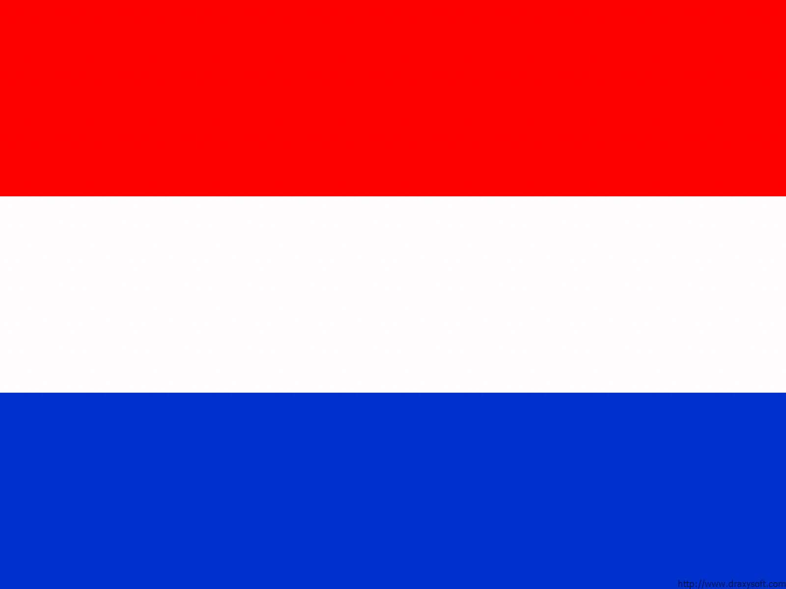 The official flag of the Netherlands