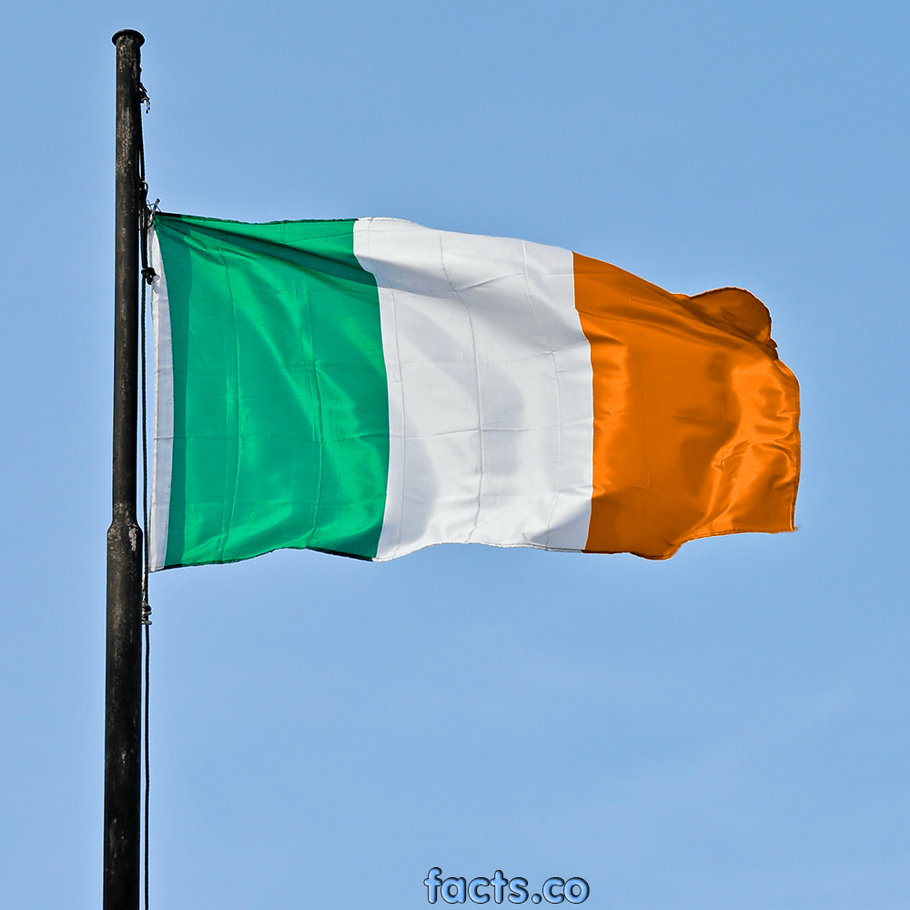 Ireland's Flag EnchantedLearning.com