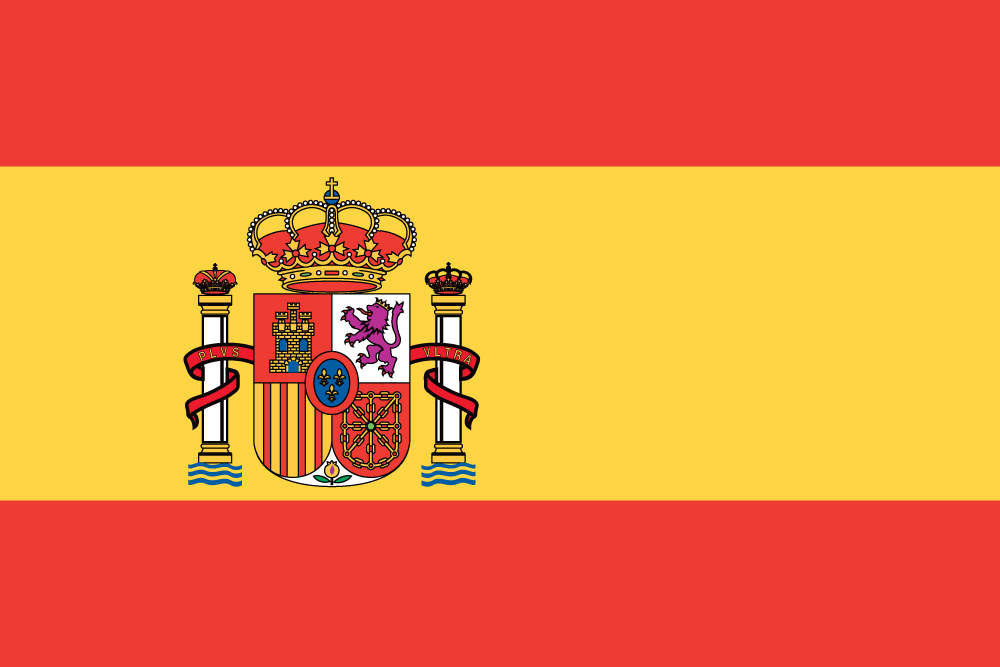 Wild image for printable spanish flag