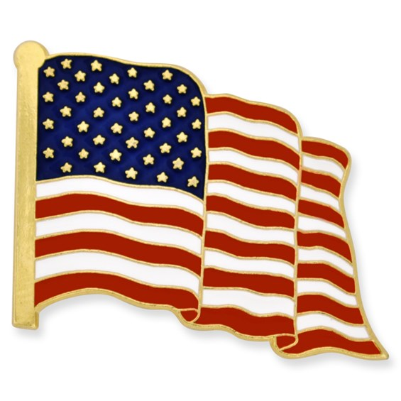 Made in the USA American Flag Pin Made in the USA, American Made
