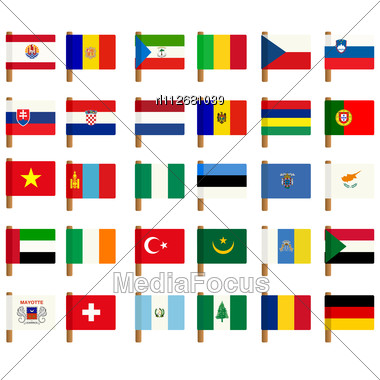 Flag Symbols Vector Art | Getty Images