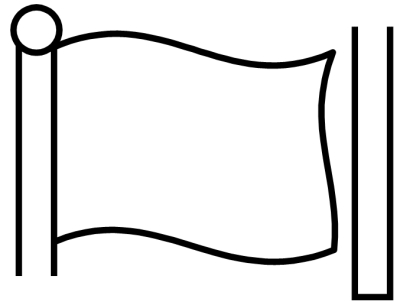 Blank Flag Template ClipArt Best