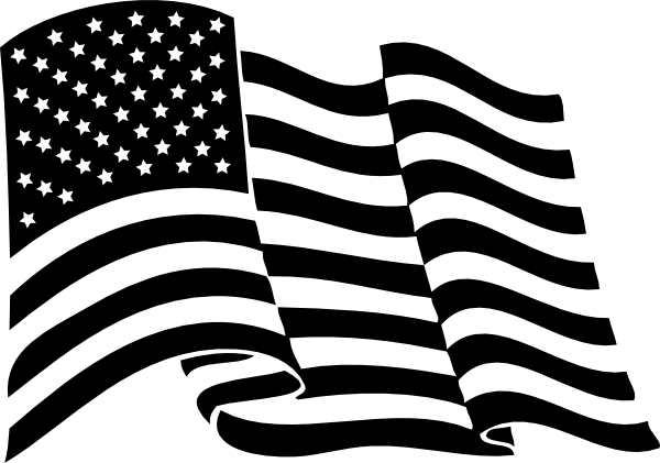 American Flag Vector Clipart Clipart Kid