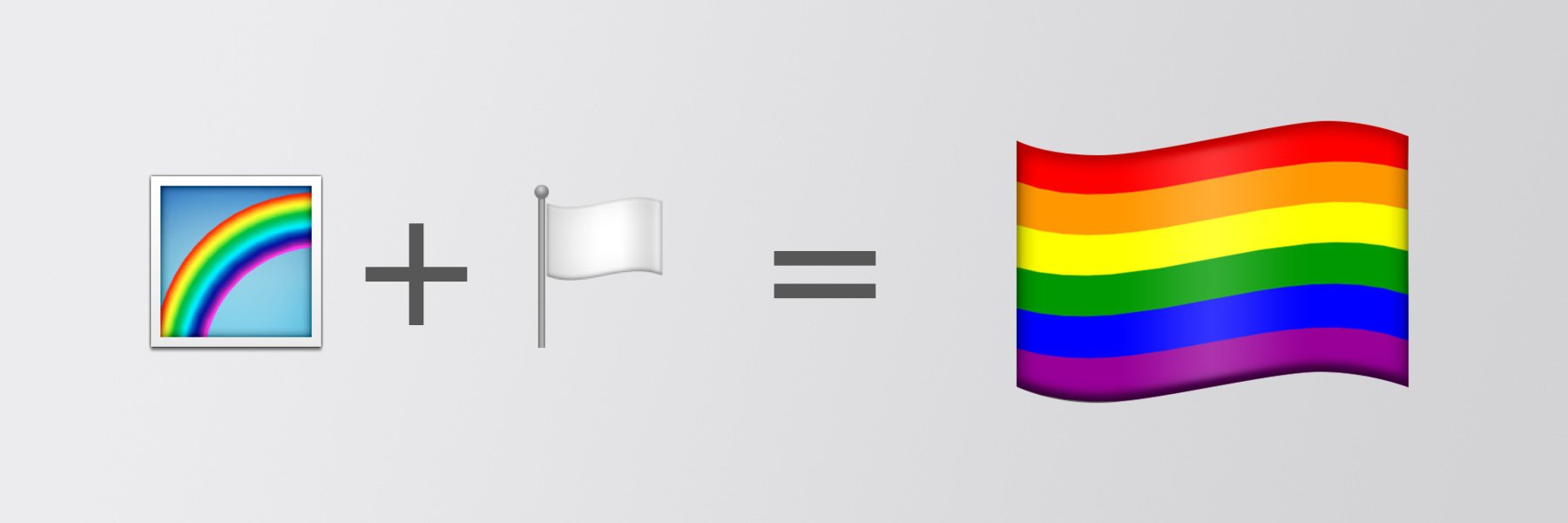 🏳 🌈 Rainbow Flag Emoji Details Published
