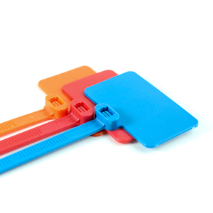 6c9c5191d Flag Nylon Cable Ties With Write On Labels