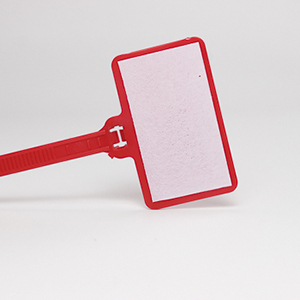 Flag Nylon Cable Ties With Write On Labels