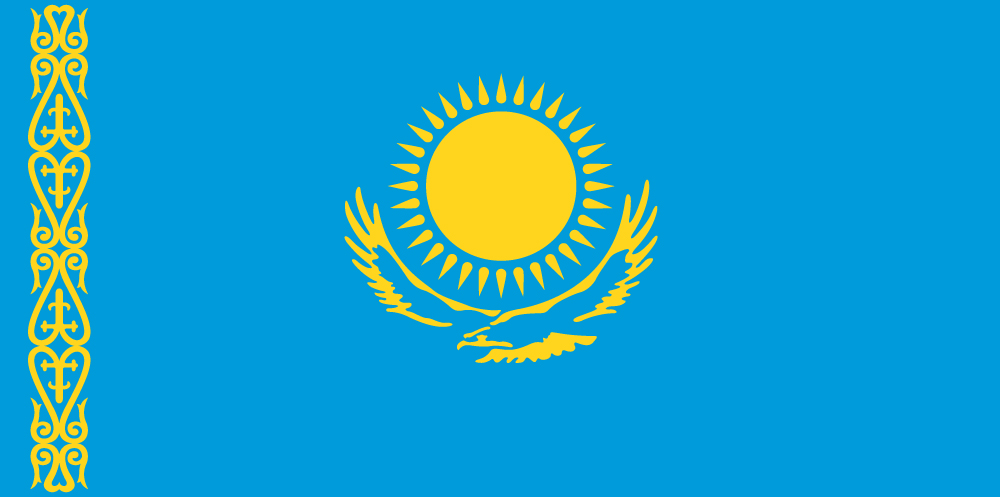 Kazakhstan Flag colors meaning history of Kazakhstan Flag