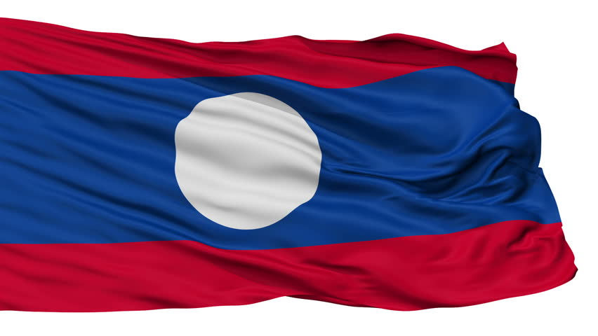 Laos Flags and Symbols and National Anthem