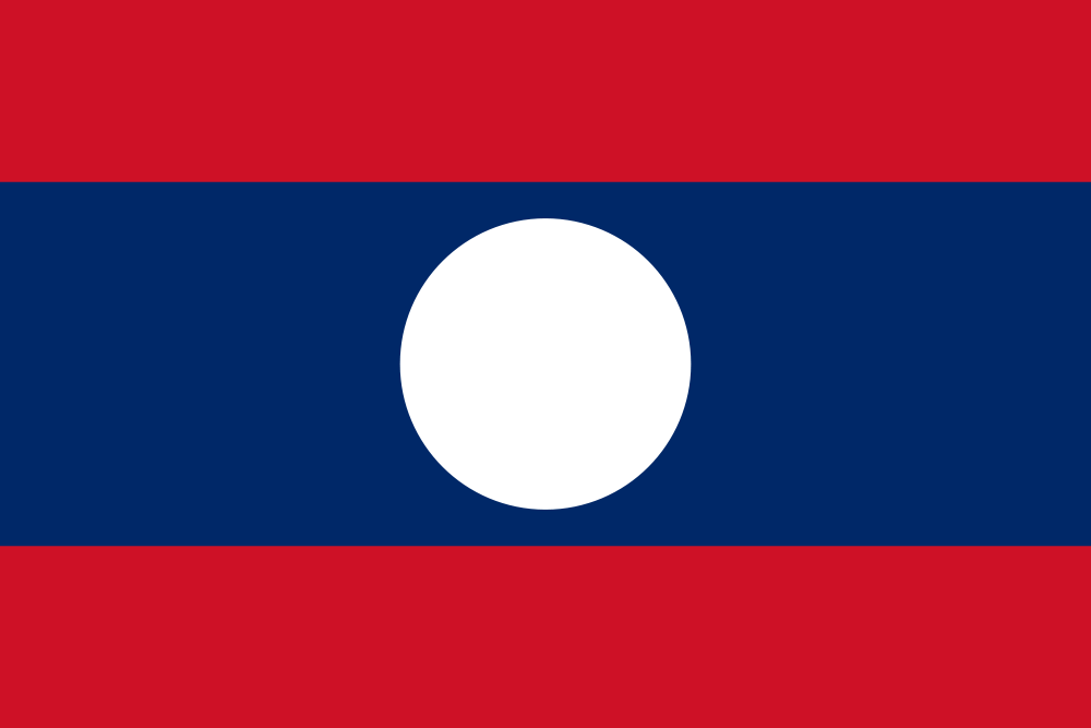 File:Flag of Laos.svg Wikimedia Commons
