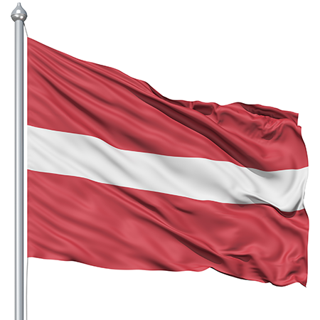 Latvia Flag and Description
