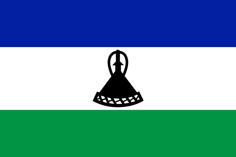 Lesotho Flag colors meaning history of Lesotho Flag