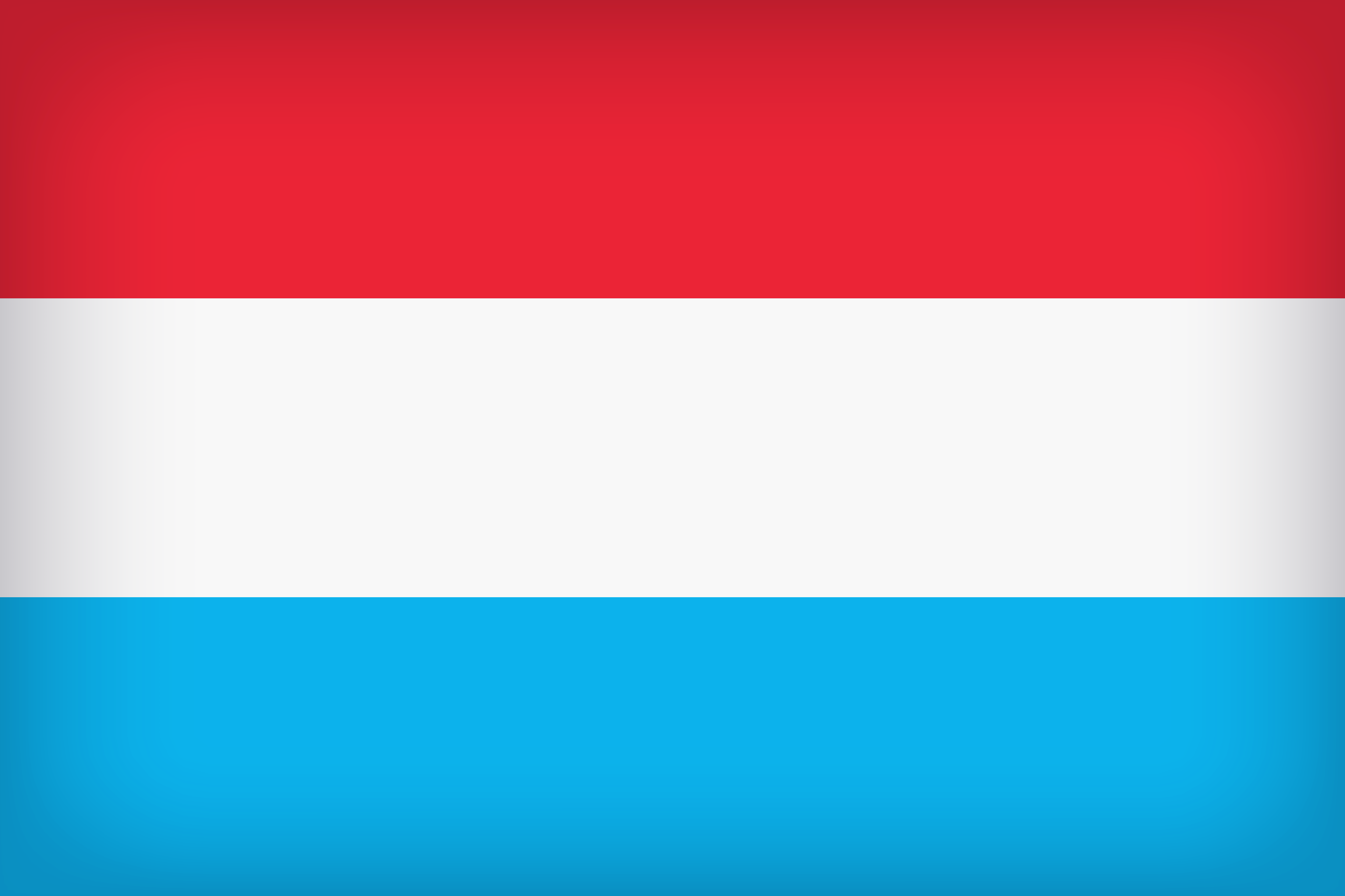 The official flag of the Luxembourg