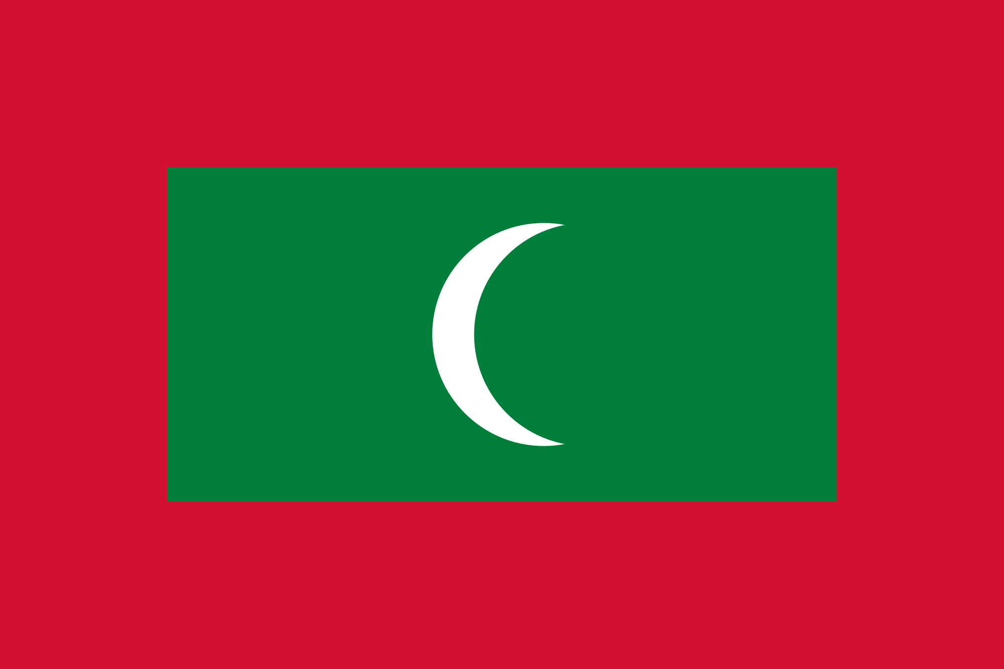 File:Flag of Maldives.svg Wikimedia Commons