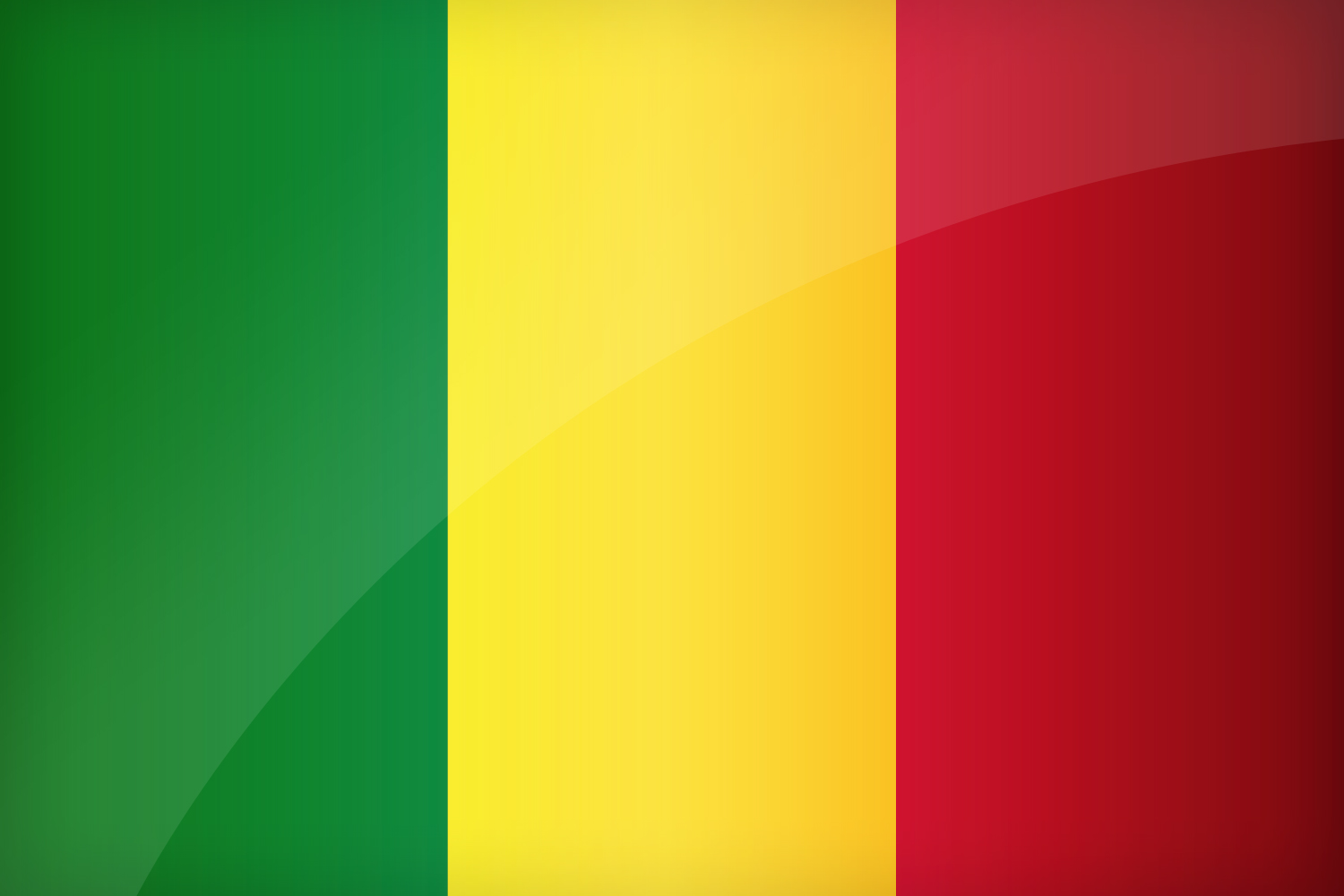 Malian Flags (Mali) from The World Flag Database