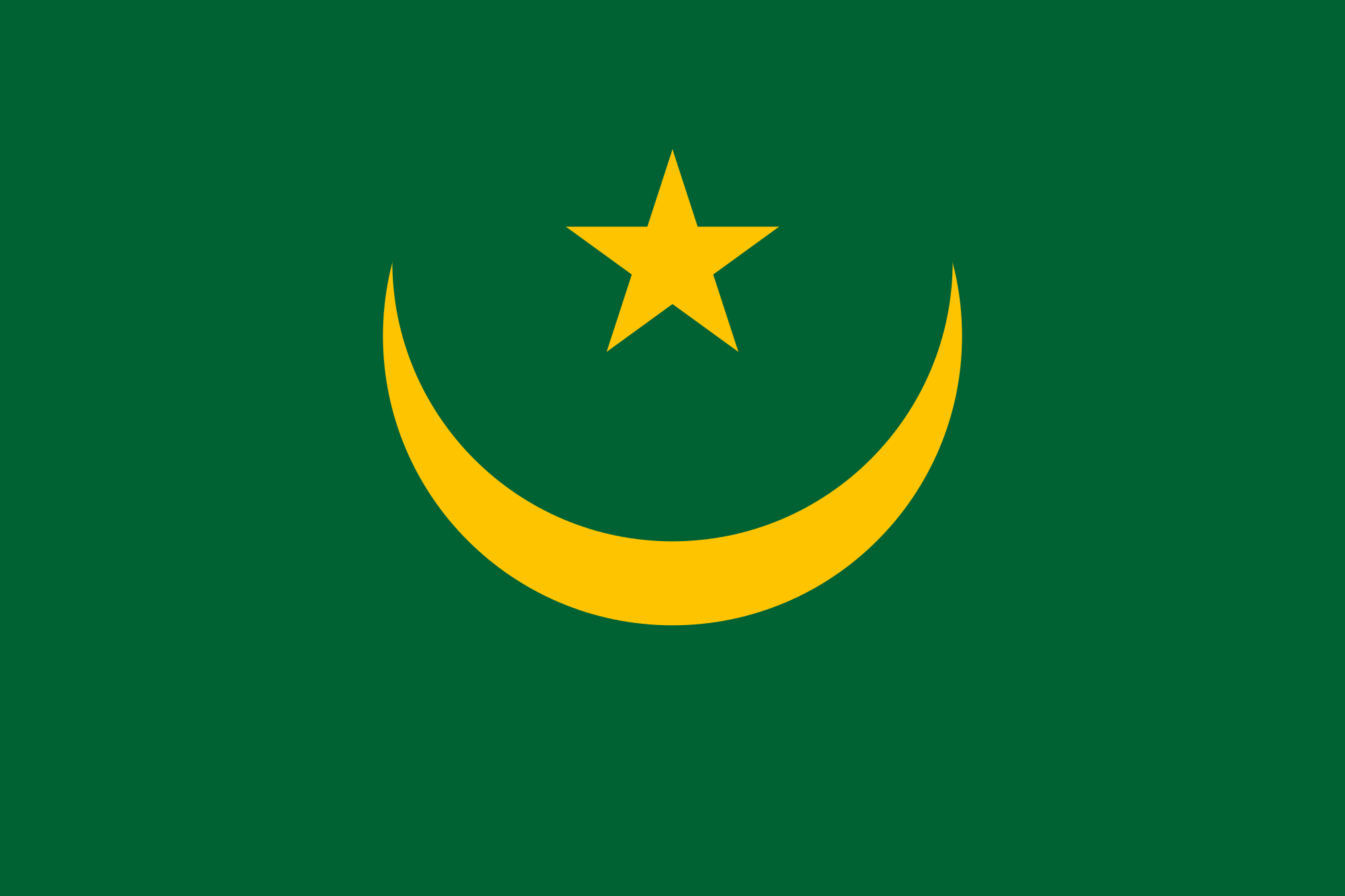 Mauritania Flag colors meaning & history of Mauritania Flag