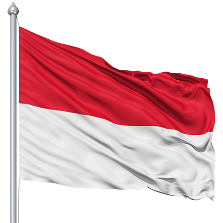 Why do Monaco and Indonesia have such similar looking flags? Quora