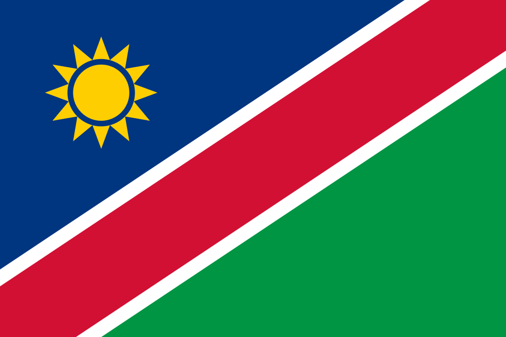 Namibia Flag colors meaning history of Namibia Flag