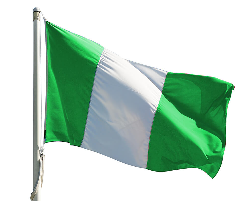 Nigeria Flag colors meaning & history of Nigeria Flag