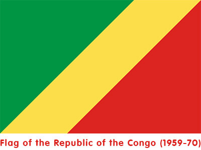 Flag Republic of the Congo Animated Flag Gif