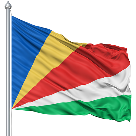 Seychelles Flag colors meaning history of Seychelles Flag