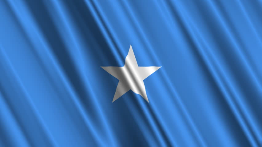 Somalia Flag Stock Footage Video Shutterstock