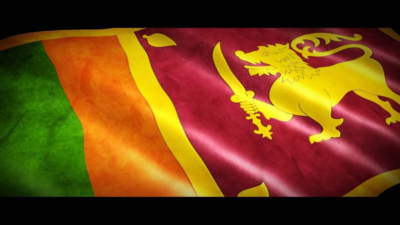 Sri Lanka Flag YouTube