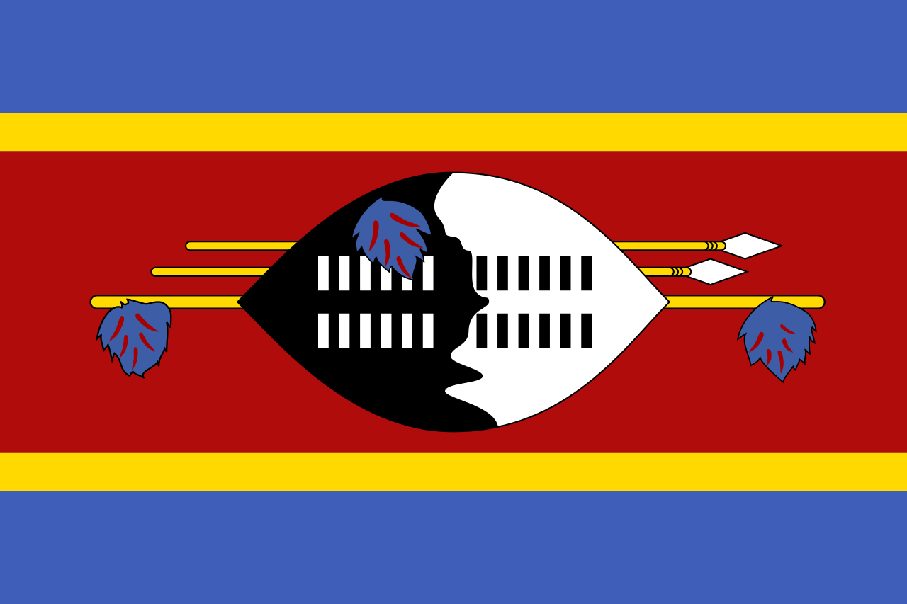 Swaziland | El Cheapo Flags