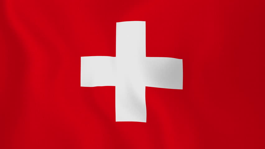 Clipart Switzerland Map Flag