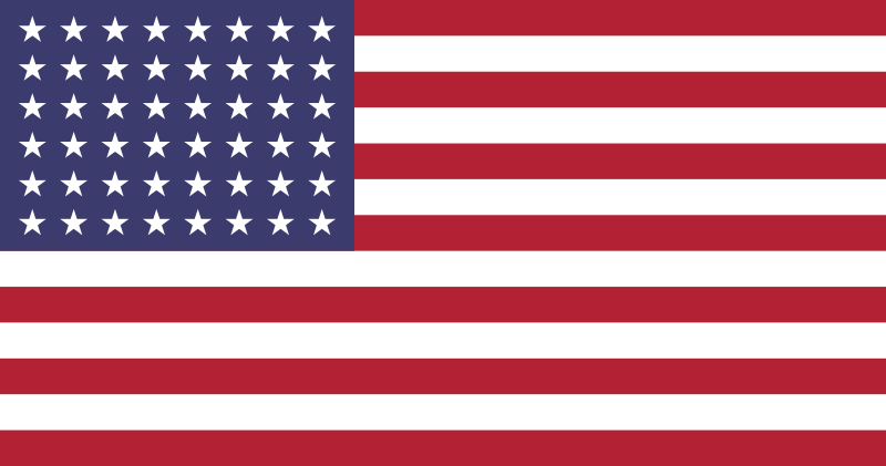 Official U.S. Flags1777 1960