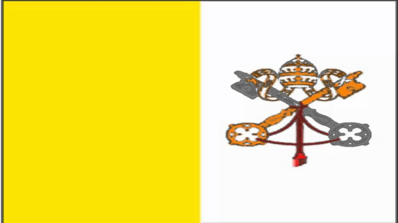 Flag of the Vatican City The Flag Institute