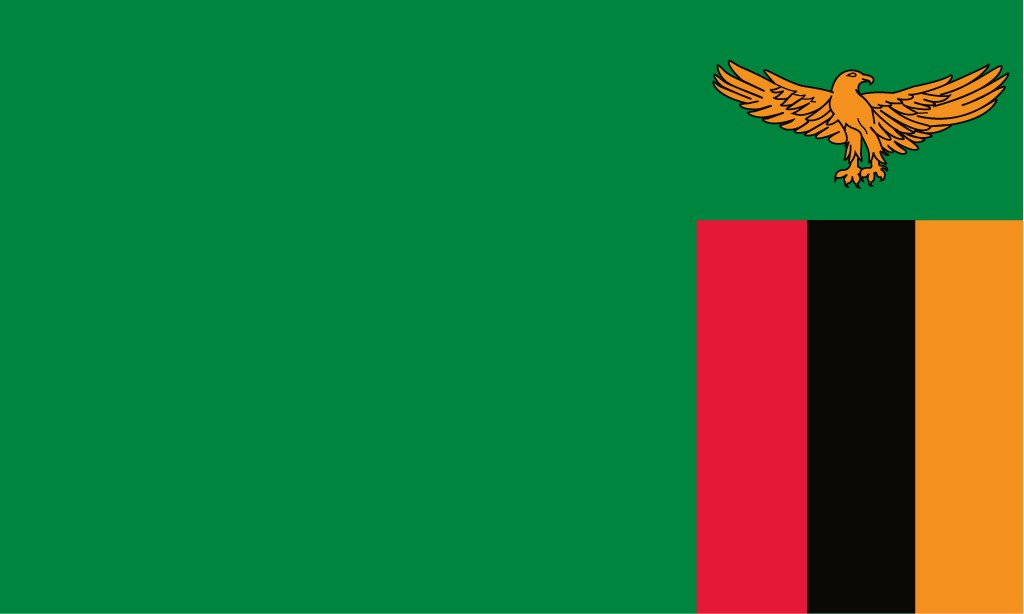 Zambia Flag Printable Flags Zambia Flag Coloring Page