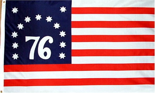 Amazon.: New 3x5 Bennington (76) Flag American Revolution